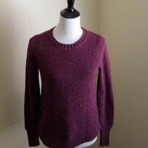 Bass flecked crewneck sweater